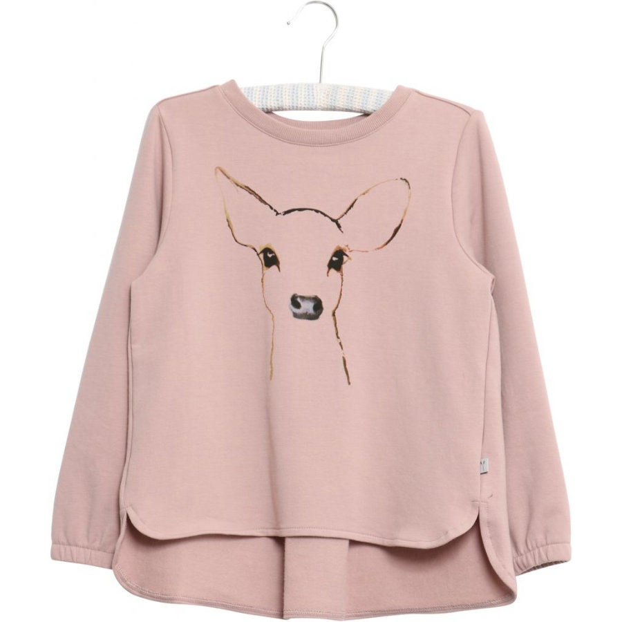 WHEAT Sweatshirt Deer powderrose