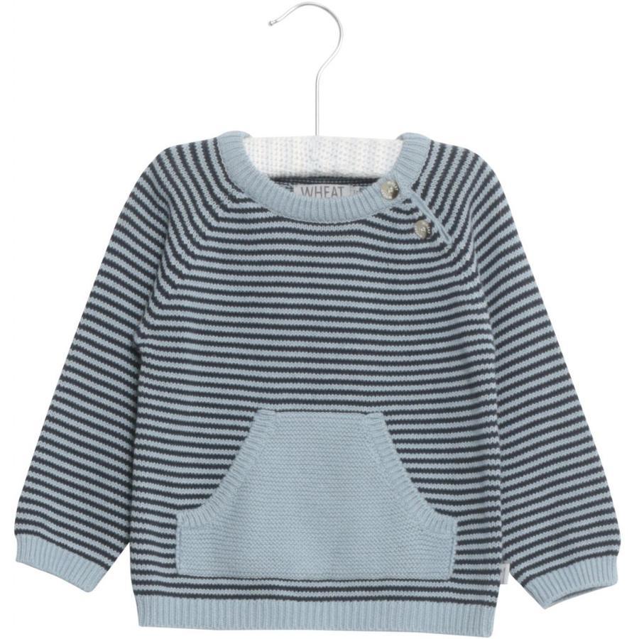 WHEAT Pull en tricot Arnold bleu cendré