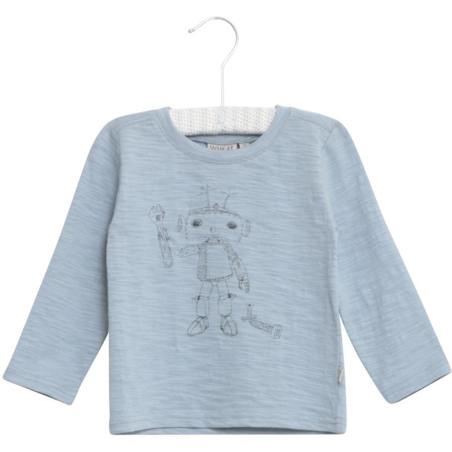 WHEAT Camicia Robot ashleyblue