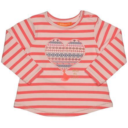 STACCATO Girls Shirt pumpkin Streifen