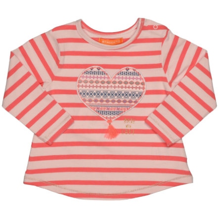 STACCATO Girls Shirt pumpkin Streifen