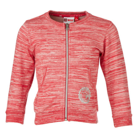 LEGO wear Girls Sweatcardigan SUMA rot