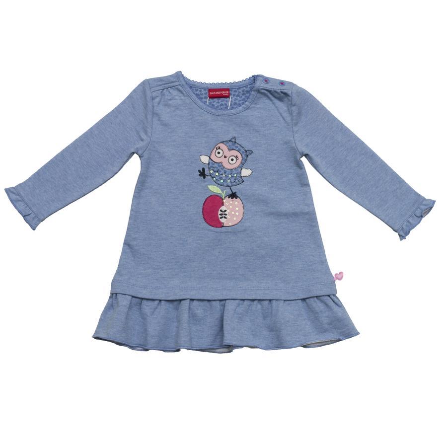 SALT AND PEPPER Girl s jurk hemelsblauw