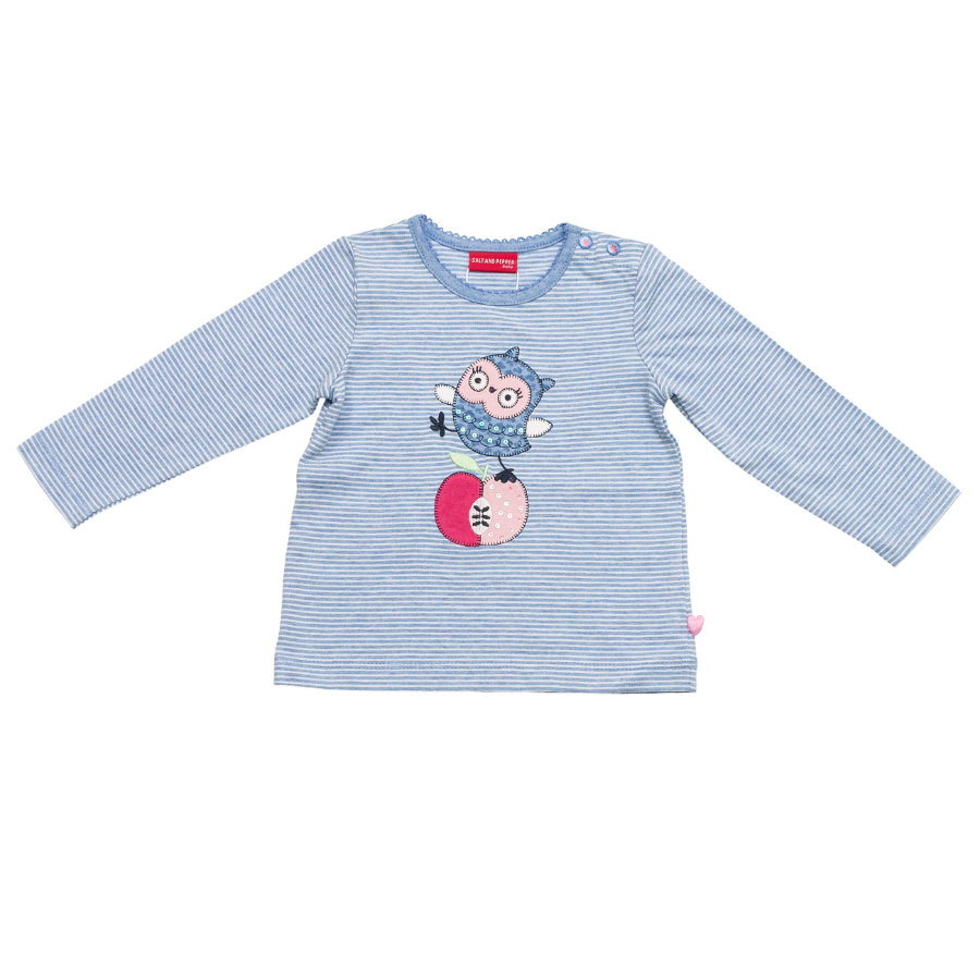 SALT AND PEPPER Girls Longsleeve sky blue