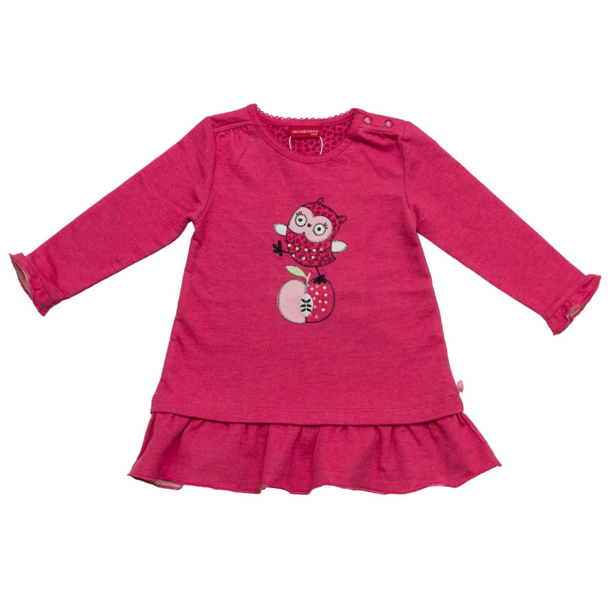 SALT AND PEPPER Girls Kleid raspberry