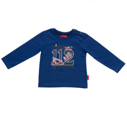 SALT AND PEPPER Boys Longsleeve little fire chief blau