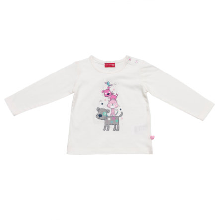 SALT AND PEPPER Girls Longsleeve off white