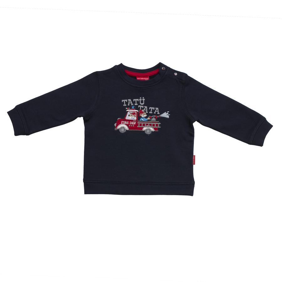 SALT AND PEPPER Boys Sweatshirt klein brandweercommandantje kobalt