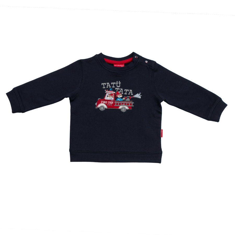 SALT AND PEPPER Boys Sweatshirt little fire chief cobalt