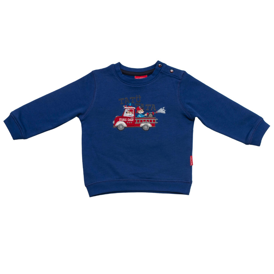 SALT AND PEPPER Boys Sweatshirt little fire chief ultramarin
