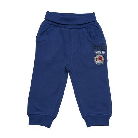 SALT AND PEPPER Boys Pantalones de chándal pequeño jefe de bomberos ultramarino