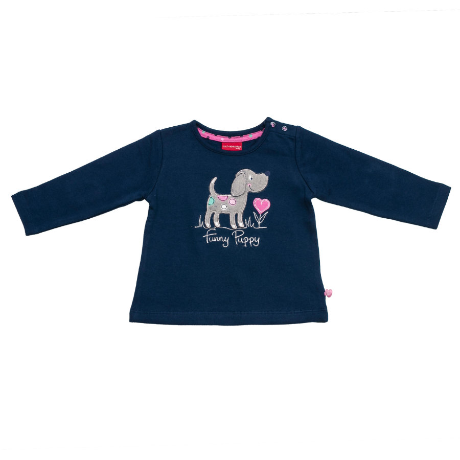 SALT AND PEPPER Girls Sweatshirt dutch blue