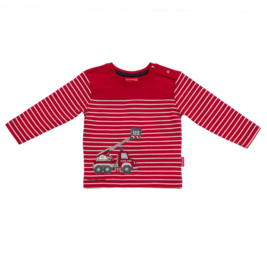 SALT AND PEPPER Boys Longsleeve little fire chief rot