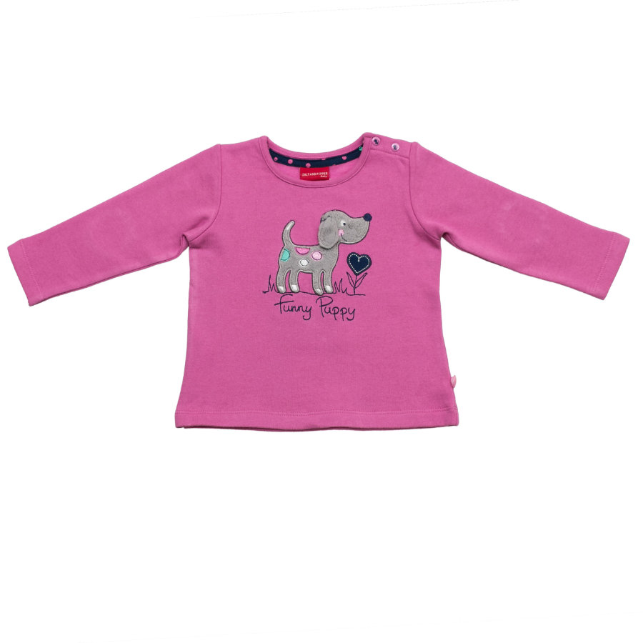 SALT AND PEPPER Girls Sweatshirt crocus pink