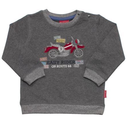 SALT AND PEPPER Boys Sweat-shirt continuer à bouger vélo gris foncé-gris-melange