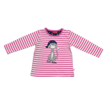 SALT AND PEPPER Girls Longsleeve gestreift crocus