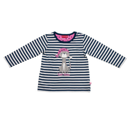 SALT AND PEPPER Girls Longsleeve gestreift dutch blue