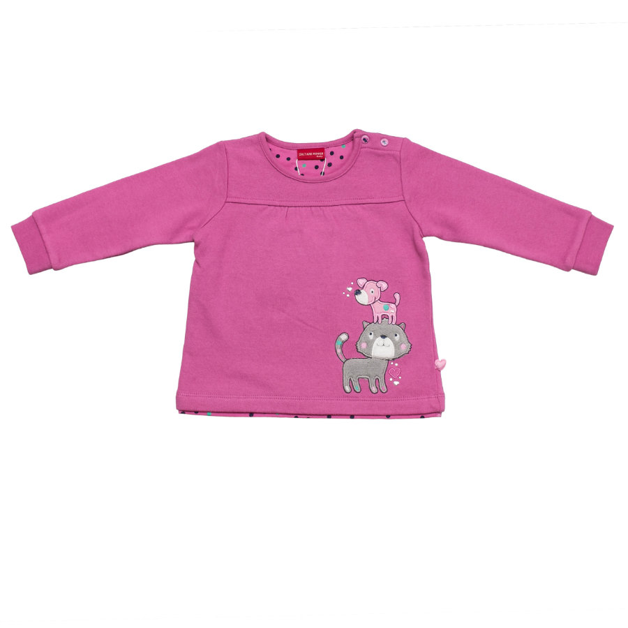 SALT AND PEPPER Girls Sweatshirt Katze Hund crocus