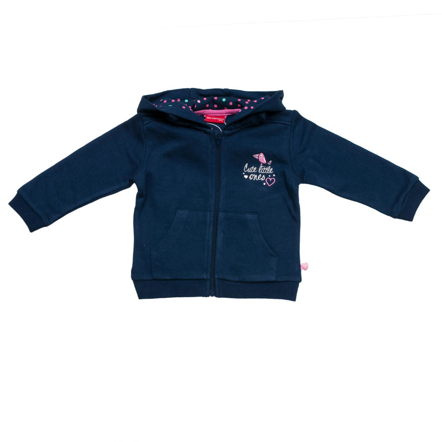 SALT AND PEPPER Girls Sweatjacke dutch blue