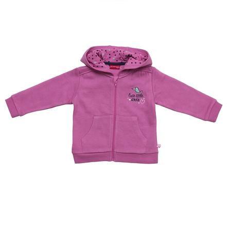SALT AND PEPPER Girl s Giacca felpa crocus pink