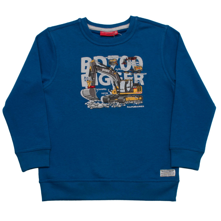 SALT AND PEPPER Boys Sweatshirt Bagger alaska blue