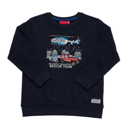 SALT AND PEPPER Boys Sweatshirt Firefighter Team cobalt