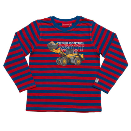 SALT AND PEPPER Boys Longsleeve Builder stripe pupur red