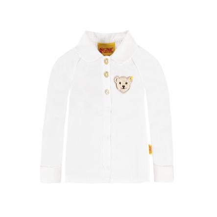 Steiff Girl s Camicetta bianco brillante