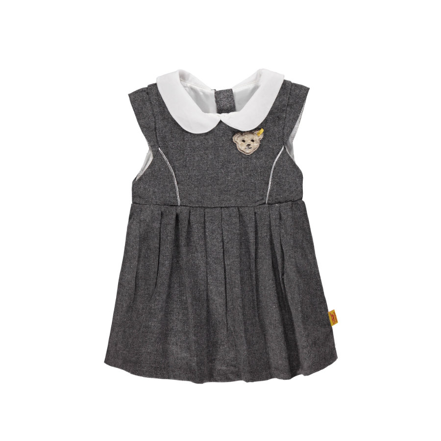 Steiff Girls Kleid grey
