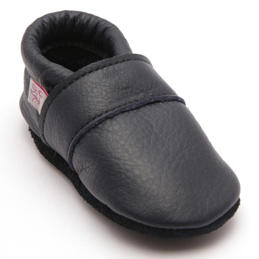TROSTEL ryömivä kenkäluokka ic tummansininen nappa-nahka