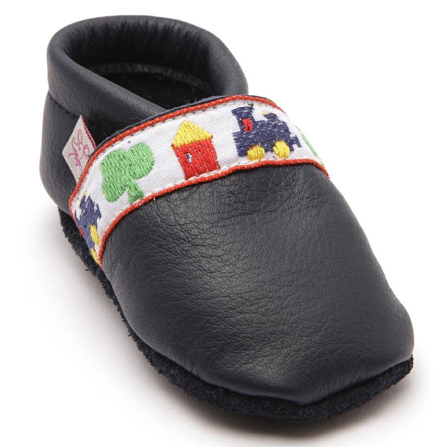 TROSTEL Boys chaussures de marche à quatre pattes loco bleu foncé
