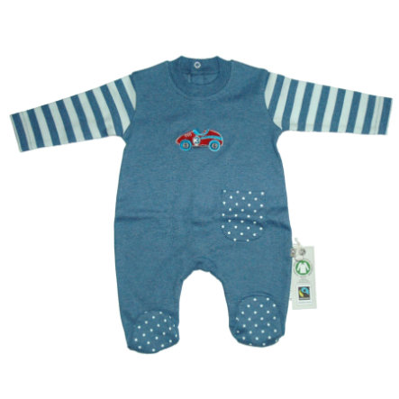 EBI & EBI Fairtrade Sleep overoverall bleu uni
