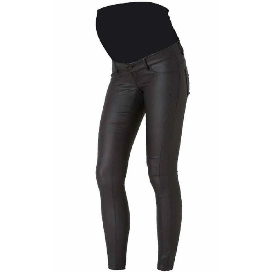 mama licious moderskap jeans MLRAM svart längd: 34