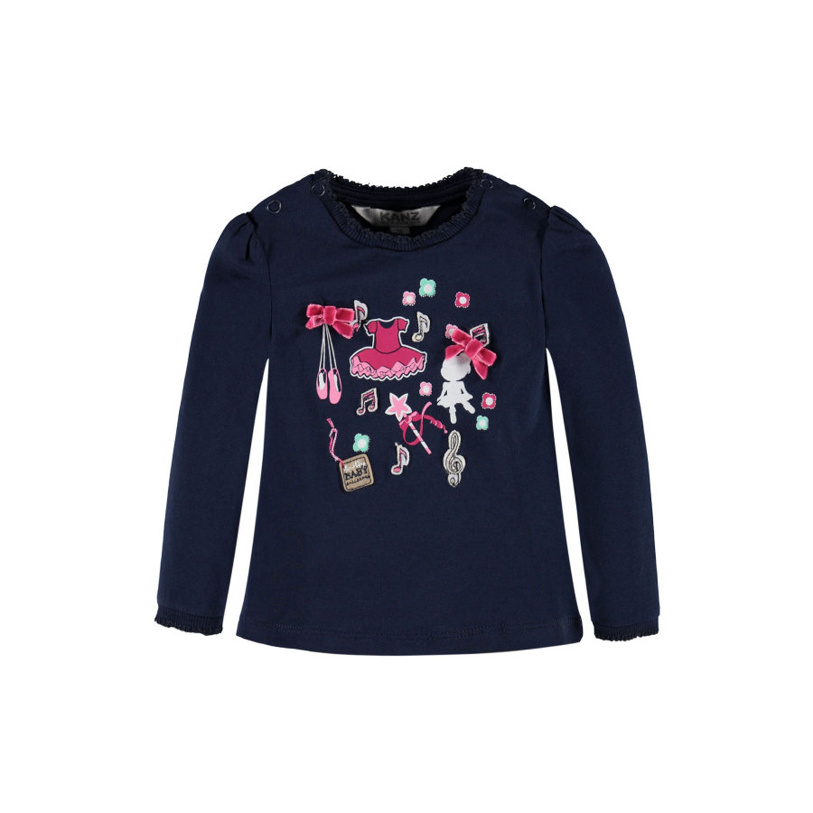 KANZ Girls Longsleeve black iris