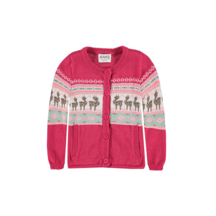 KANZ Girl cardigan s rouge rosé