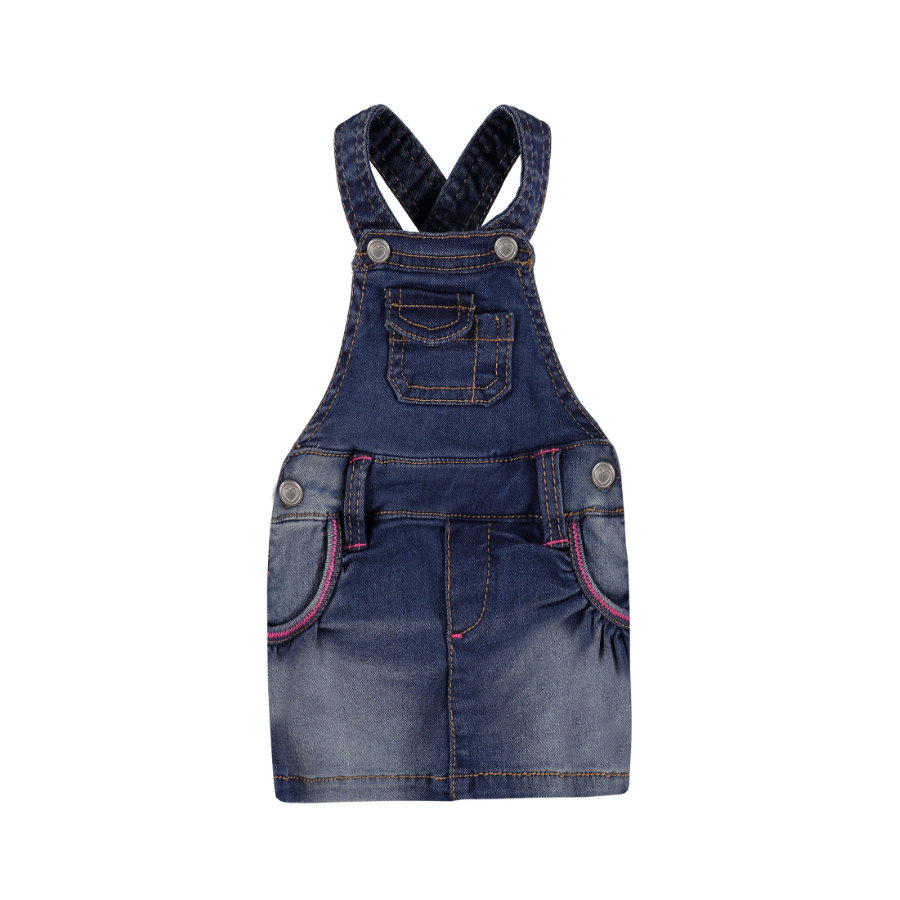 KANZ Girls Jeanslatzkleid blue denim