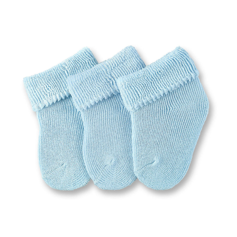 Sterntaler Boys primeros calcetines 3-pack azul