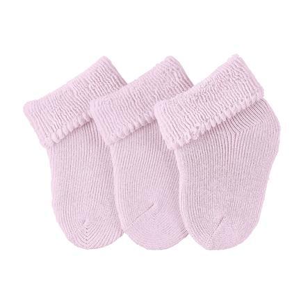 Sterntaler Girls Erstlingssöckchen 3er-Pack rosa