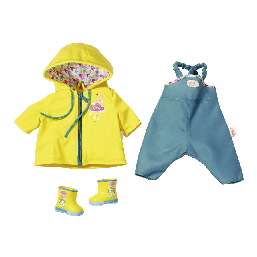 Zapf Creation BABY born® Happy Birthday Rain Fun Set