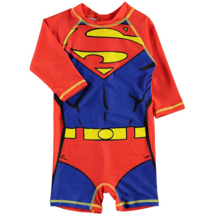 name it Boys UV Swimsuit Superheroes lollipop