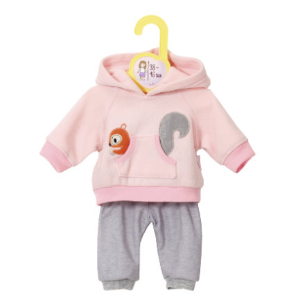 Zapf Creation® Dolly Moda: Ubranka sportowe dla lalki 38 do 46 cm, kolor różowy