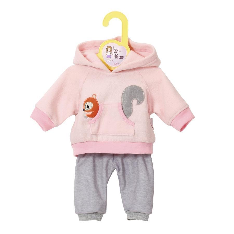 Zapf Creation® Dolly Moda: Sportovní oblek, růžový 38 až 46 cm