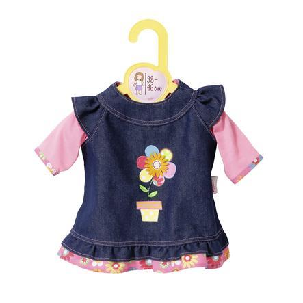 Zapf Creation® Dolly Moda: Jeansjurkje 38 tot 46 cm