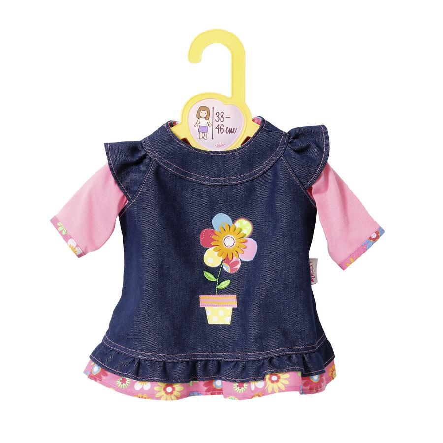 Zapf Creation® Dolly Moda: Sukienka dżinsowa dla lalki 38 do 46 cm