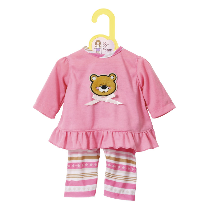 Zapf Creation Dolly Moda: Pyjama 38 bis 46 cm