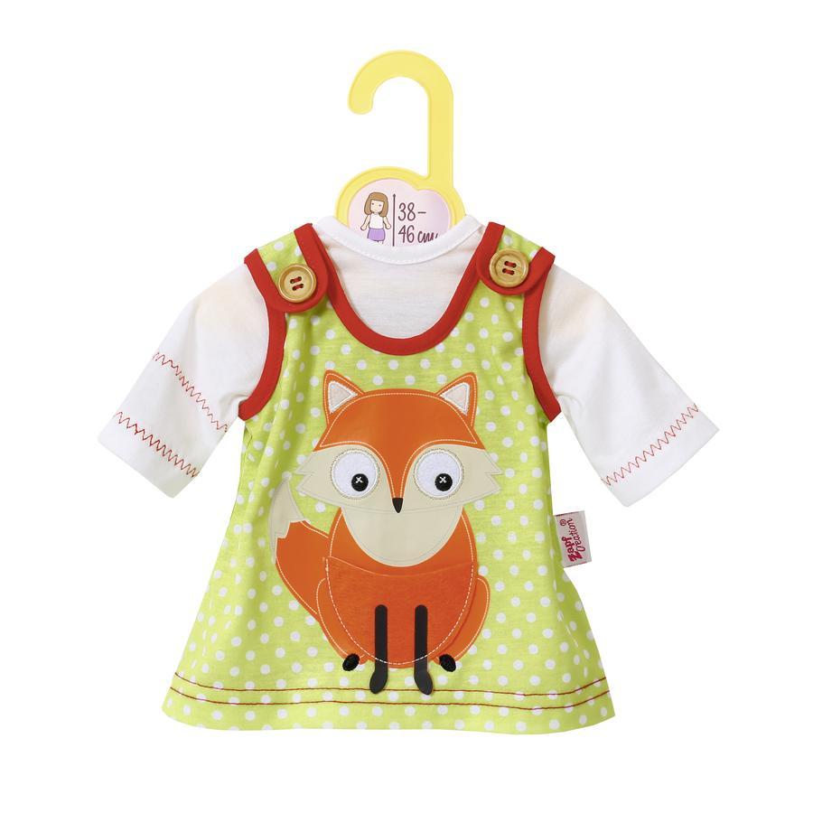Zapf Creation Dolly Moda: Kleid mit Fuchs 38 bis 46 cm -