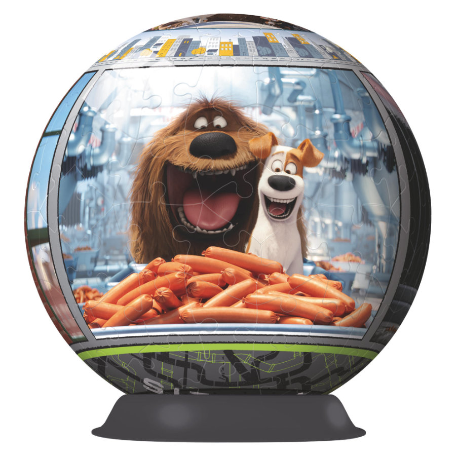 Ravensburger Puzzle/kula 3D - The Secret Life of Pets