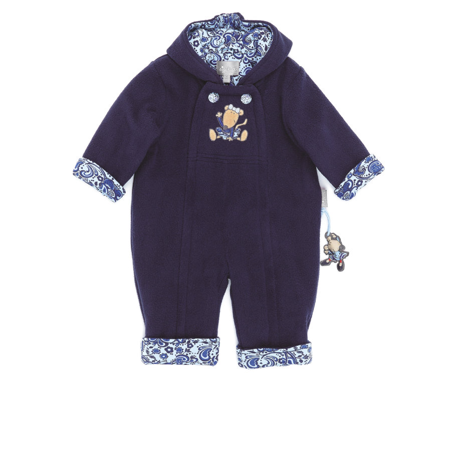 sigikid Girl Fleece Overall peacoat
