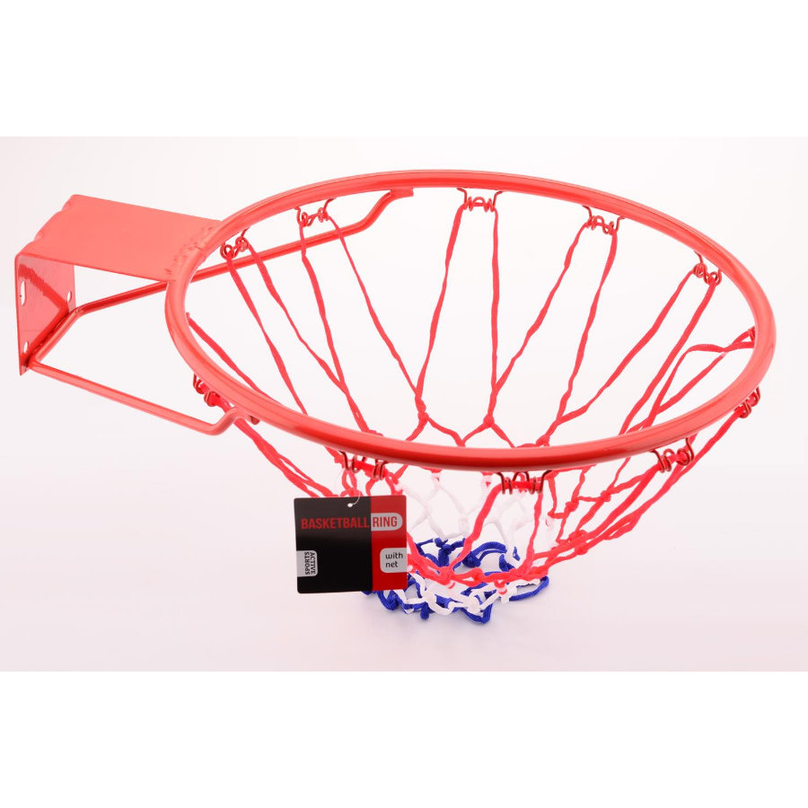 JOHNTOY Sports Active Basketkorg med nät