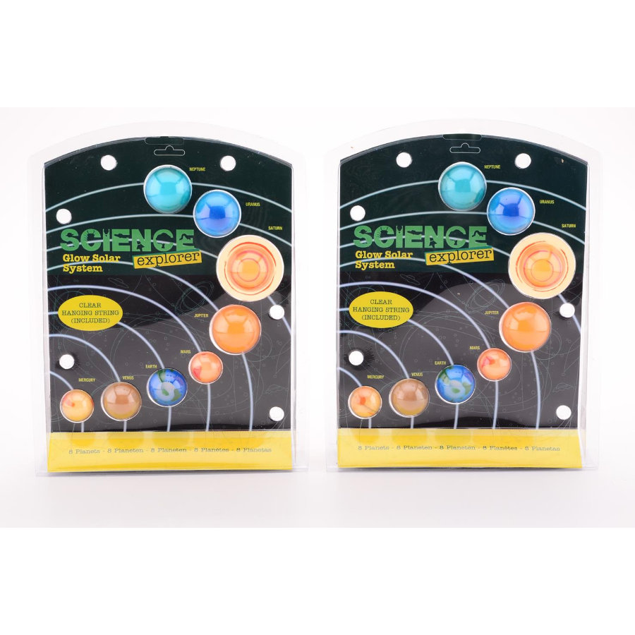 JOHNTOY Science Explorer - Zonnestelsel, glow in the dark